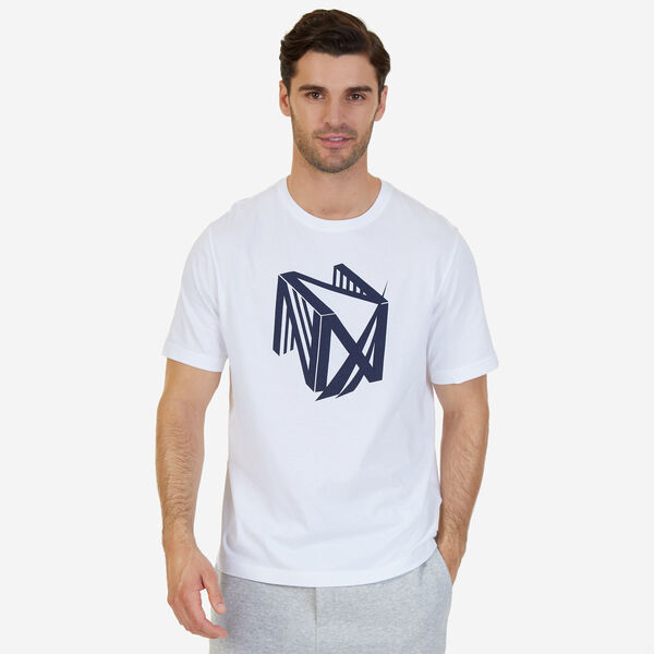Dimension Logo Sleep T-Shirt - Bright White