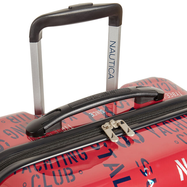 "Windline 24"" Hardside Spinner Luggage,Nautica Red,large"
