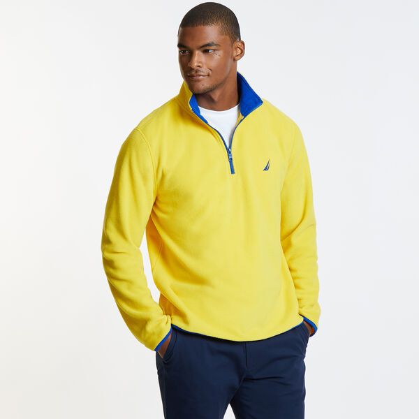 Basic Quarter-Zip Nautex Pullover - Knot Yellow