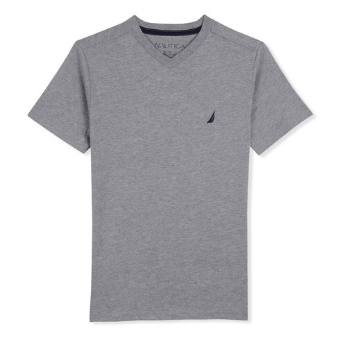 Boys' Channel Space Heathered T-Shirt (8-20) - Grey Heather