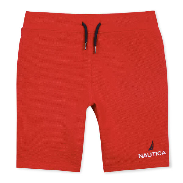 BOYS' JAMES PULL-ON ACTIVE SHORT - Melonberry