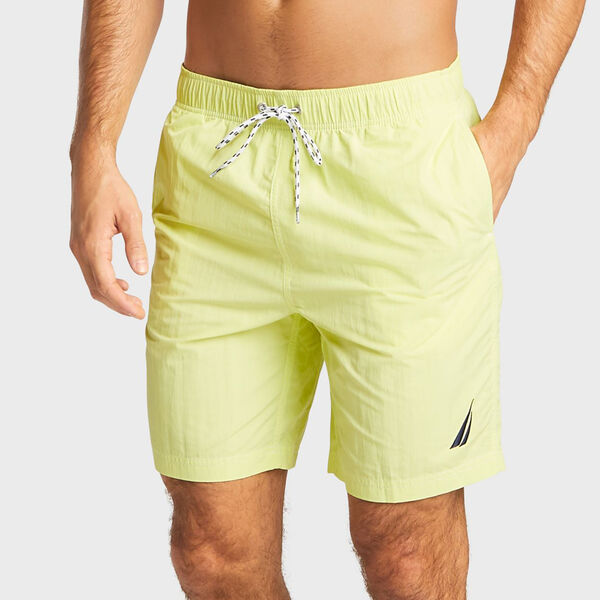 Big & Tall Full-Elastic Swim Trunks - Fresh Lime