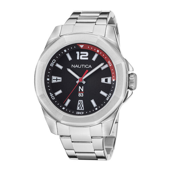 TORTUGA BAY STAINLESS STEEL WATCH - Multi