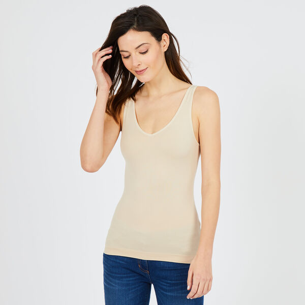 Reversible Neckline Tank Top - Surplus