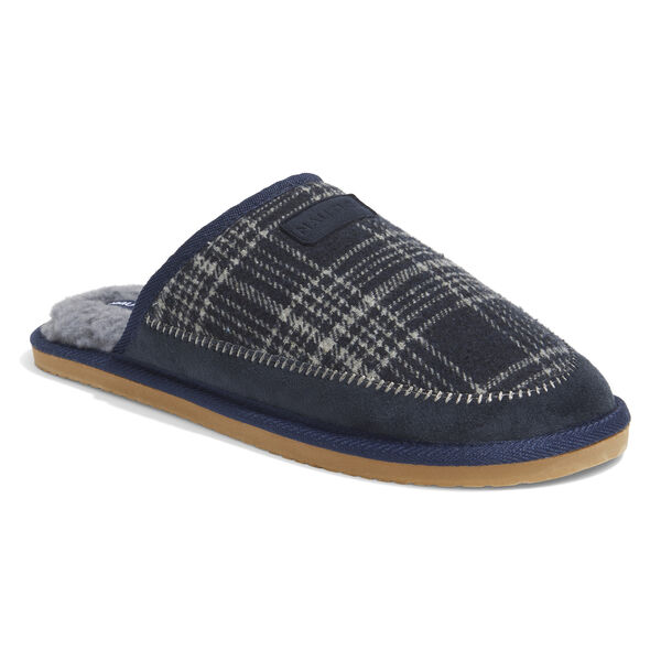 FLEECE LINED SLIPPERS - Pure Dark Pacific Wash