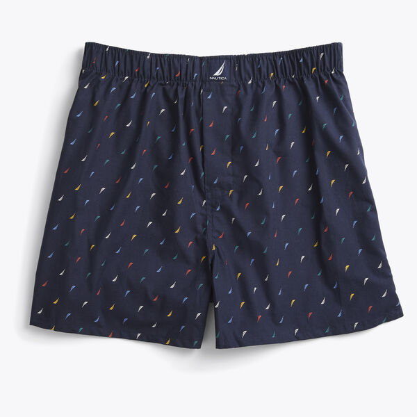 WOVEN BOXER - Surf Water Wash