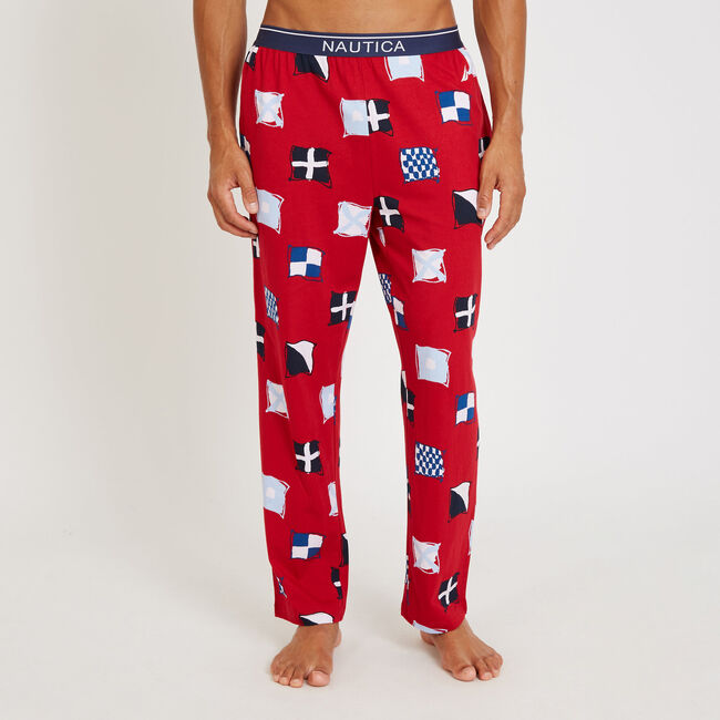 Signal Flag PJ Pants,Nautica Red,large