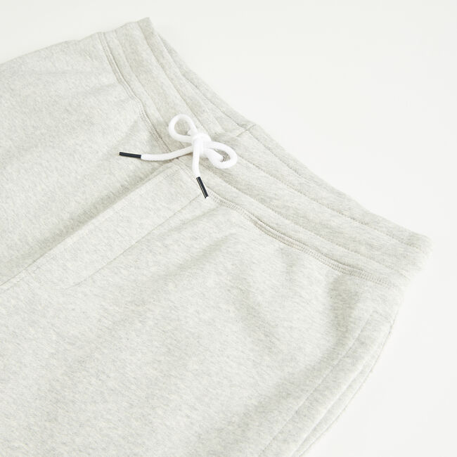 "9"" LOGO KNIT SHORTS   ,Grey Heather,large"