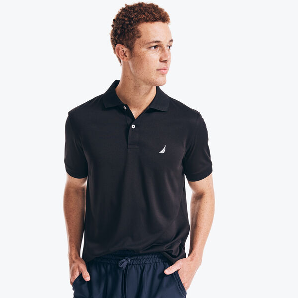 NAVTECH CLASSIC FIT PERFORMANCE POLO - True Black