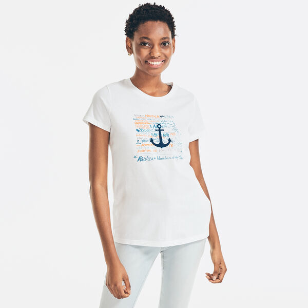 WATERCOLOR PAINTING GRAPHIC T-SHIRT - Bright White