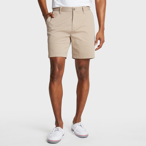 "6"" CLASSIC FIT DECK SHORTS WITH STRETCH - True Khaki"