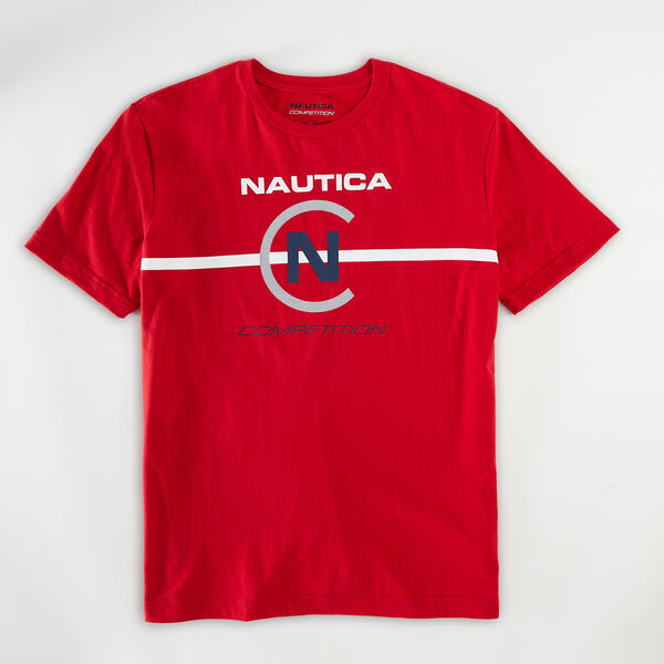 NAUTICA COMPETITION GRAPHIC T-SHIRT - Nautica Red