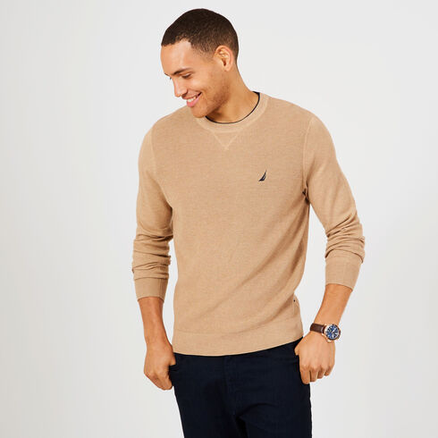 Navtech Performance Crewneck Sweater - Espresso