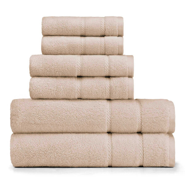 Belle Haven Towel Set - Khaki
