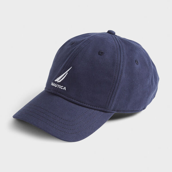 J-CLASS EMBROIDERED CAP - Navy