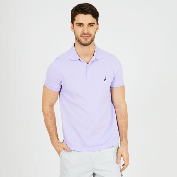 SLIM FIT MESH POLO - Camilla Rose