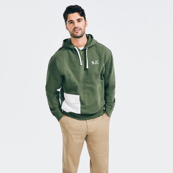 NAUTICA JEANS CO. PULLOVER HOODIE - Pineforest