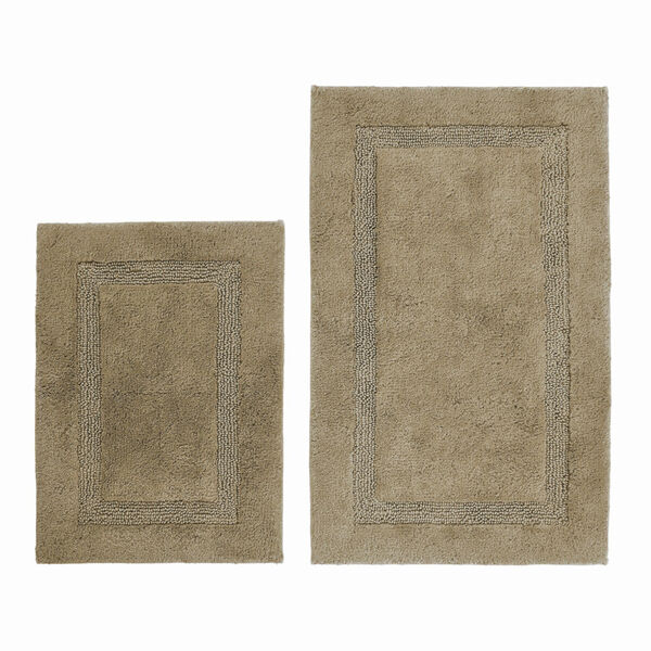 PENISTON BROWN BATH RUG SET - Multi