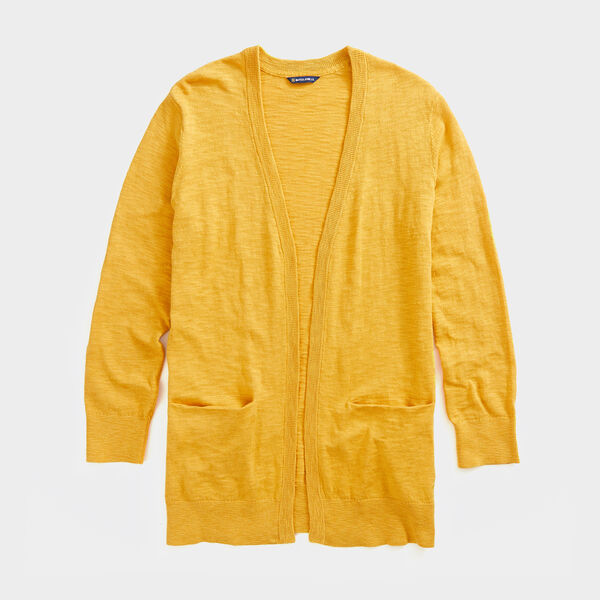 NAUTICA JEANS CO. OPEN-FRONT KNIT CARDIGAN - Kernel