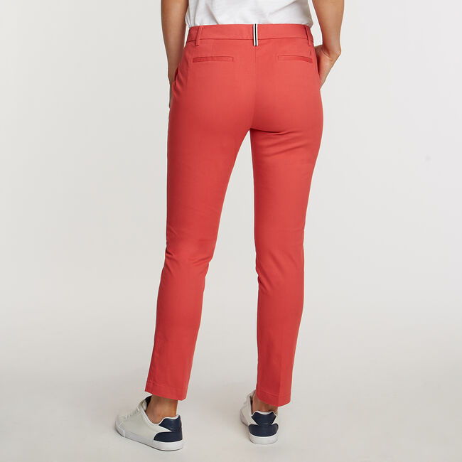 """Cuff Chino Pants - 29"""" Inseam,Sailor Red,large"""