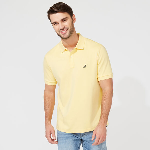 CLASSIC FIT PREMIUM COTTON POLO - Corn