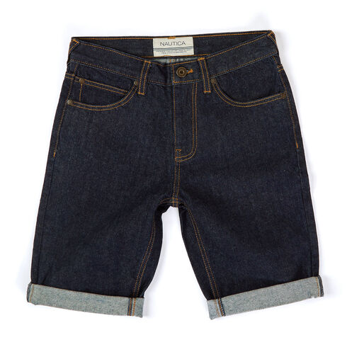 Toddler Boys' Rinse Denim Shorts (2T-4T) - Angel Blue