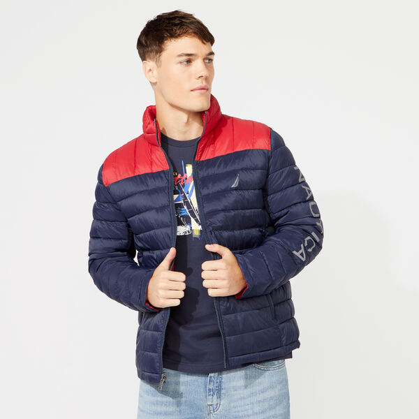 LIGHTWEIGHT TEMPASPHERE REVERSIBLE JACKET - Navy