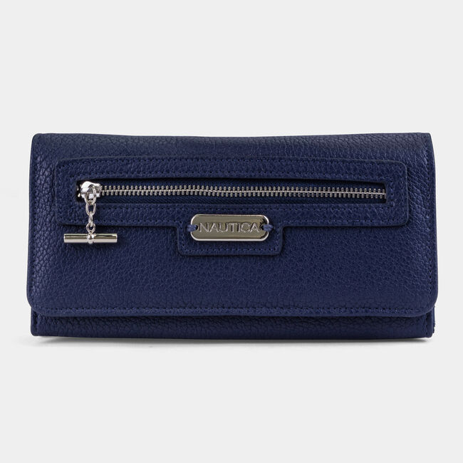 ABOVE BOARD BOXED CONTINENTAL WALLET,Pure Deep Bay Wash,large