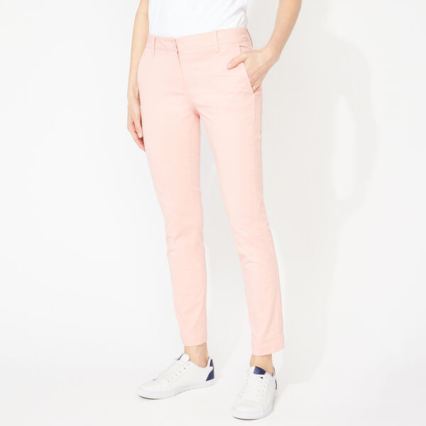SLIM FIT ANKLE CHINOS - Prism Pink