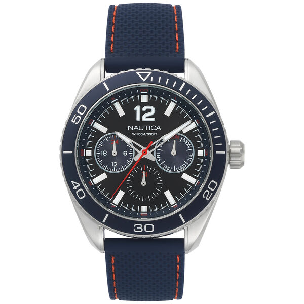 Key Biscayne 3-Hand Watch - Navy  - Multi