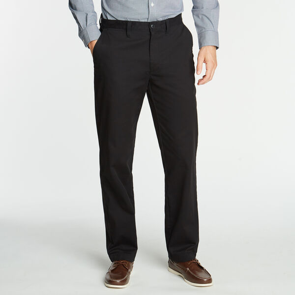 CLASSIC FIT WRINKLE-RESISTANT PANTS - True Black