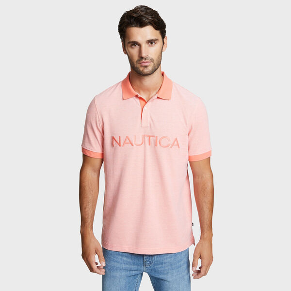 Kailua Short Sleeve Logo Classic Fit Polo - Vibe Orange