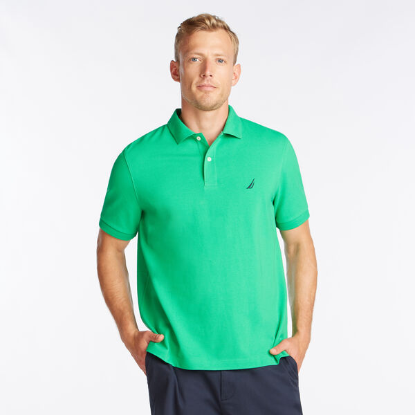CLASSIC FIT DECK POLO - Bright Green