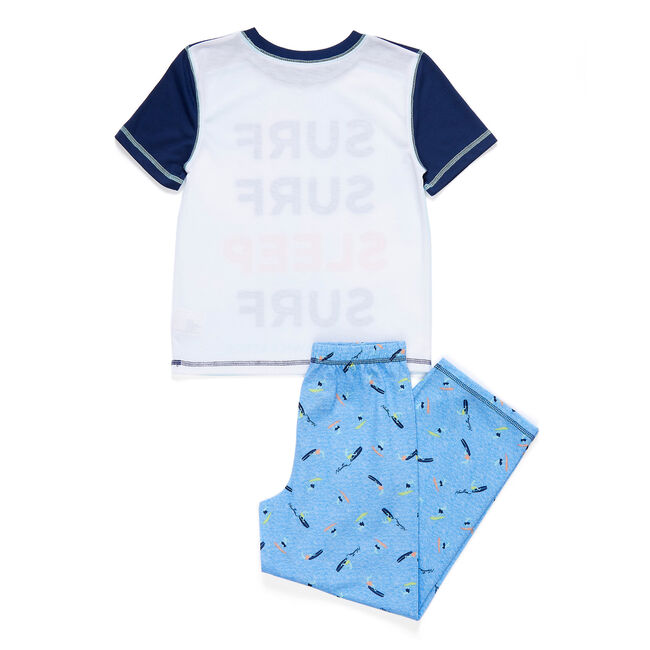 Boys' Surf-Surf PJ Pants Set (XS-XL) ,Ice Blue,large