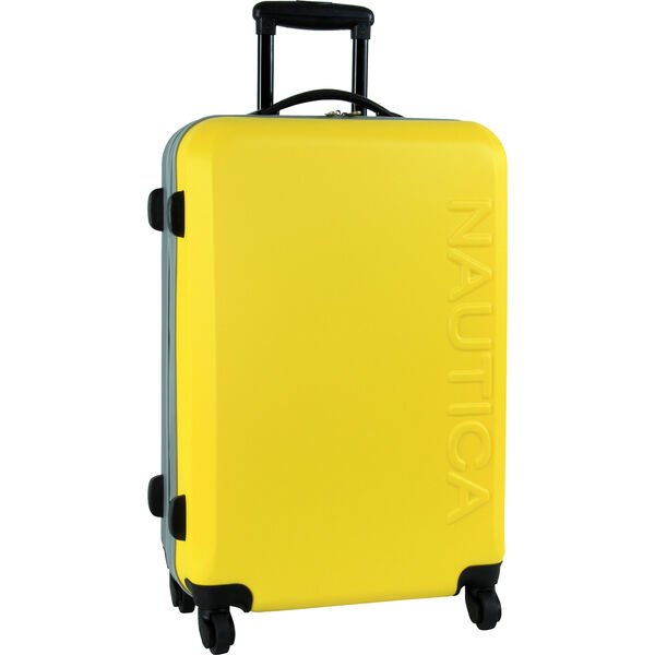 "Ahoy Hardside 25"" Rolling Luggage - Nautica Yellow"