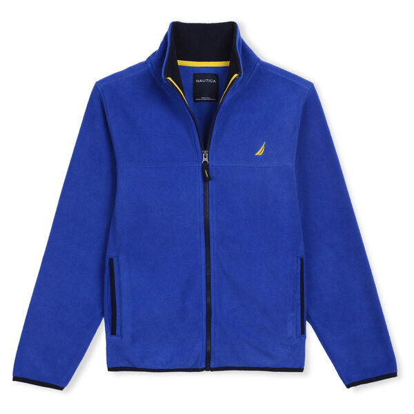 LITTLE BOYS' CHRIS NAUTEX FLEECE (4 - 7) - Tugboat Blue