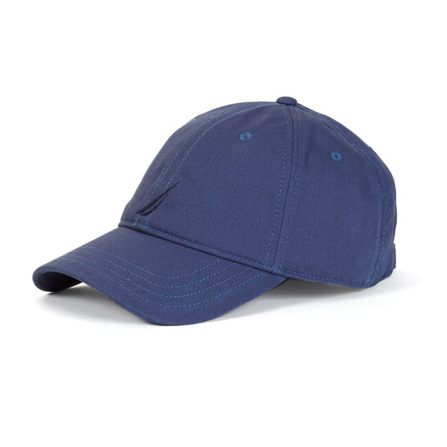J-CLASS BASEBALL CAP,Distressed Blue Wash,large