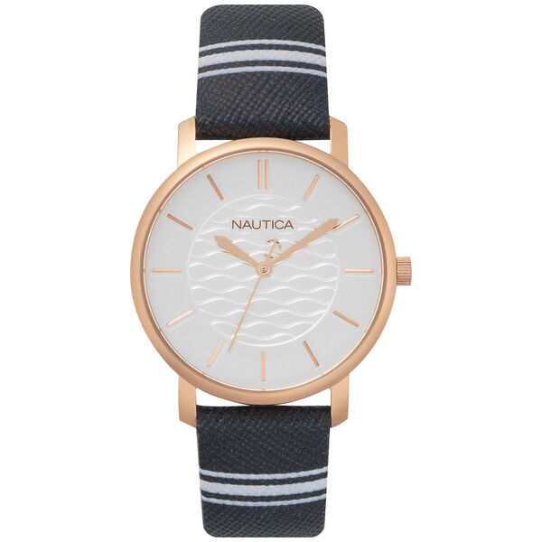 Coral Gables 3-Hand Watch - Navy/White  - Multi