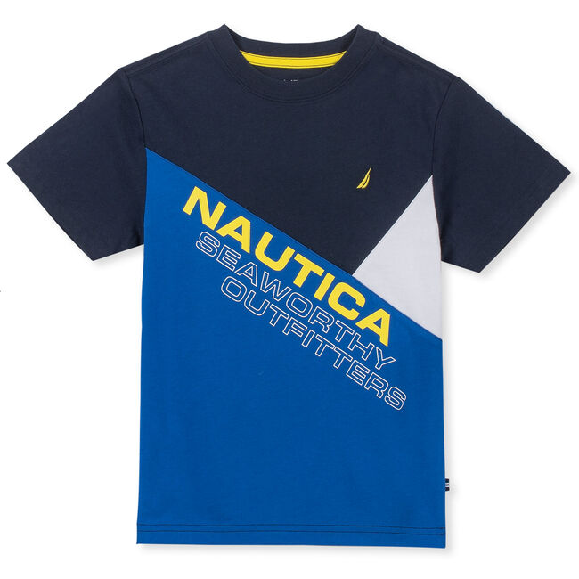 Toddler Boys' Brock Seaworthy Heritage Tee (2T-4T),Sport Navy,large