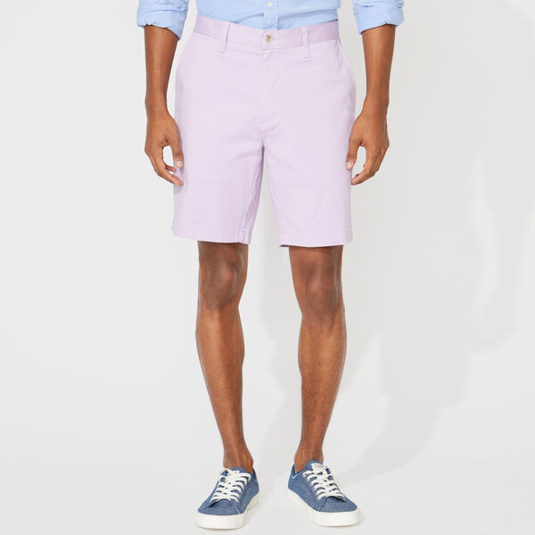 "8.5"" CLASSIC FIT DECK SHORTS WITH STRETCH - Lavendula"