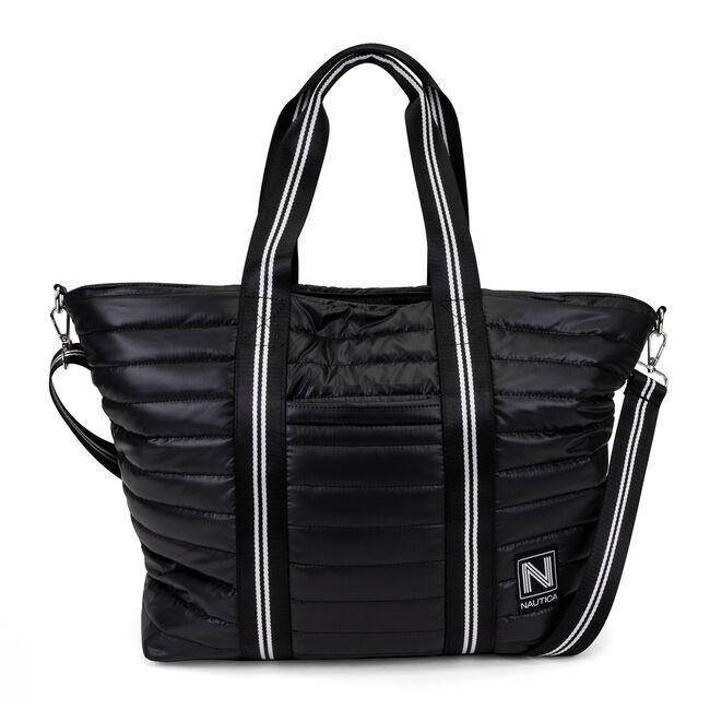 WORKING TIDAL TOTE BAG,True Black,large