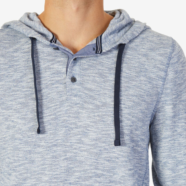Slim Fit Pullover Hoodie,Imperial Blue,large