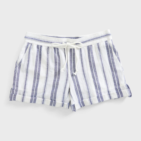 NAUTICA JEANS CO. STRIPE SHORTS - Blue Depths