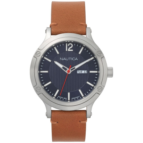 Porthole Slim 3-Hand Watch - Brown - Multi