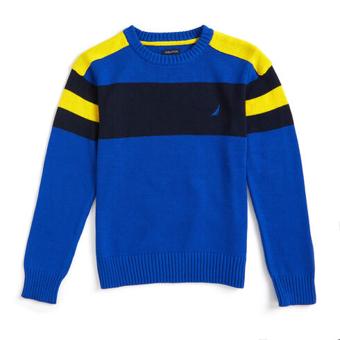 Toddler Boys' Cruise Crewneck Sweater (2T-4T) - Imperial Blue