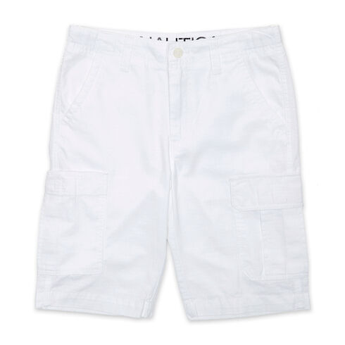 Little Boys' Cargo Shorts (4-7) - White