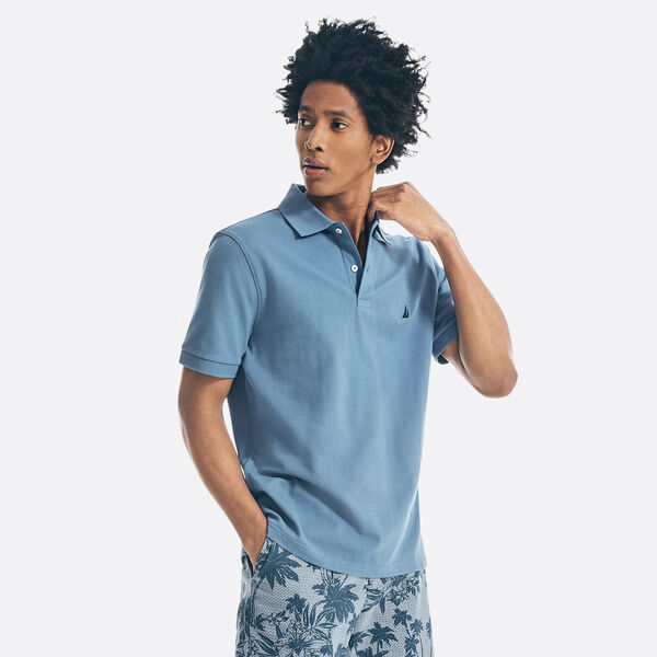 CLASSIC FIT DECK POLO - Star Sapphire