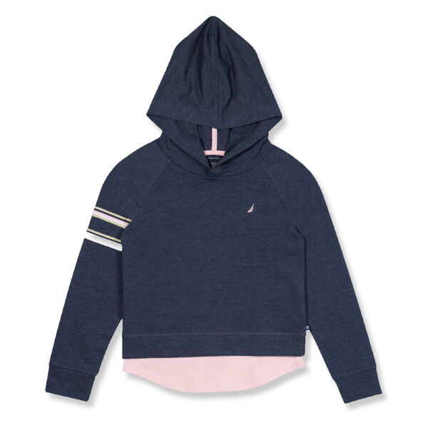 Toddler Girls' French Terry Graphic Hoodie (2T-4T) - Majolica