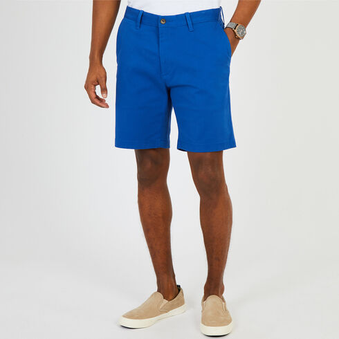 "Anchor Stretch Classic Fit Shorts - 8.5"" Inseam - Monaco Blue"
