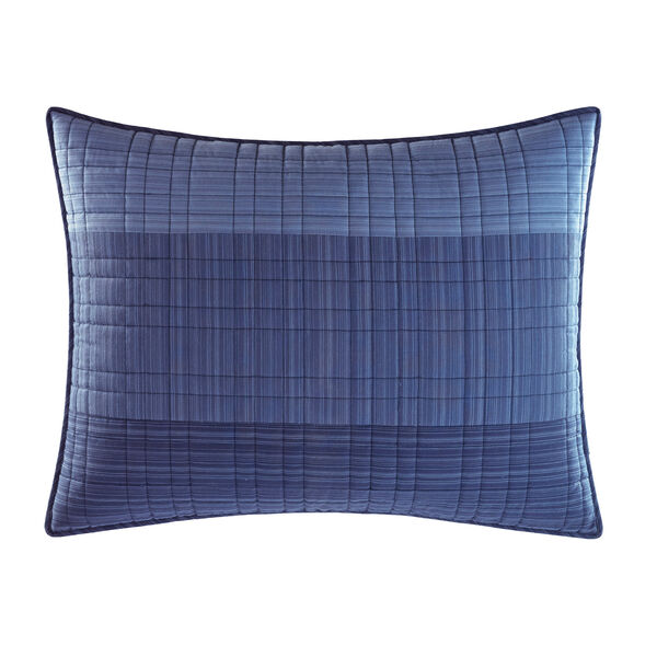 Riverview Standard Pillow Sham  - Star Sapphire